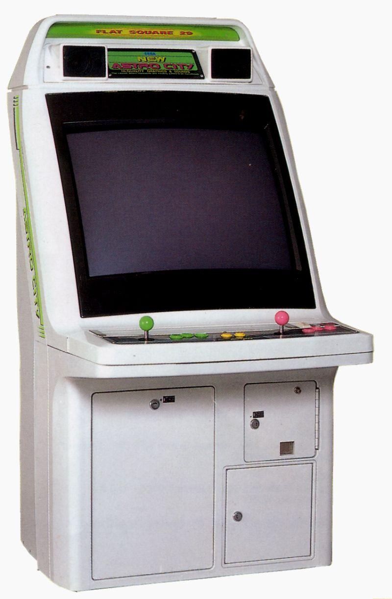 Fillmore Games - Sega Arcade Cabinet - New Astro City