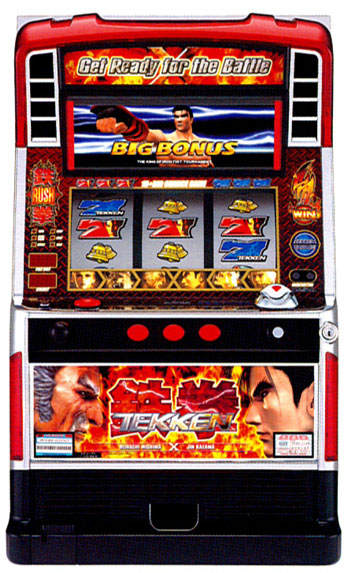 Tekken slot machine